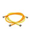 Flexible gas feeding pipe