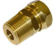 Fittings for solar collector